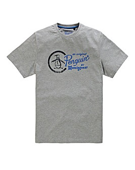 ORIGINAL PENGUIN MIGHTY SCRIPT T SHIRT