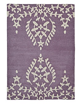 Lace Edge Wool Rug