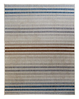 Stripped Back Flatweave Rug