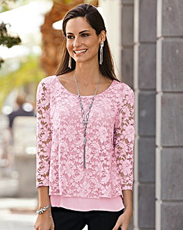 Together Layered Lace Top