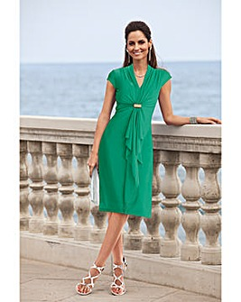 Together Waterfall Front Jersey Dress