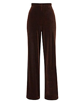Petite Velour Trouser Length 25in