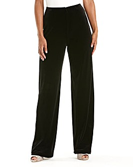 JOANNA HOPE Velour Trouser 27in