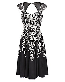 JOANNA HOPE Cornelli Dress