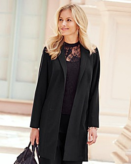 JOANNA HOPE Tailored Duster Jacket