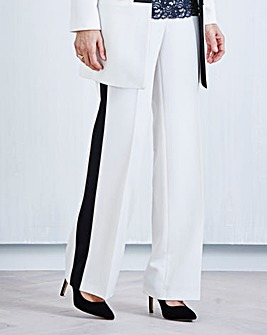 JOANNA HOPE Straight-Leg Trousers