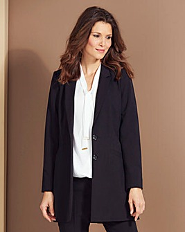 Mix and Match Longline Blazer Length 33""