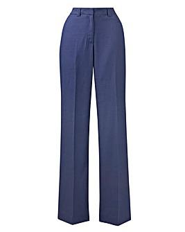 JOANNA HOPE Linen-Blend Trousers 27in