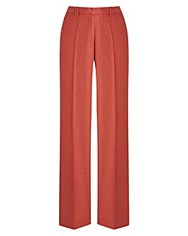 JOANNA HOPE Linen-Blend Trousers 27in