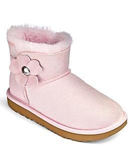 UGG Bailey Button Poppy Boot