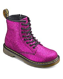 Dr Martens Delaney Lace Boots Glitter