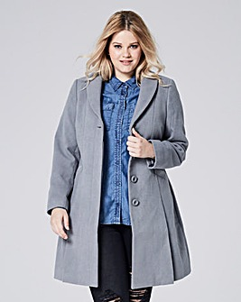 Fit And Flare Coat