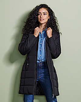 Quilted Three Quarter Jacket