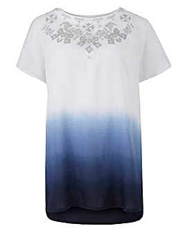 JOANNA HOPE Ombre Blouse