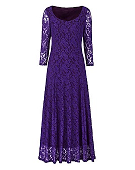 JOANNA HOPE Lace Maxi Dress