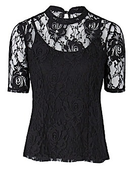 JOANNA HOPE Lace Top
