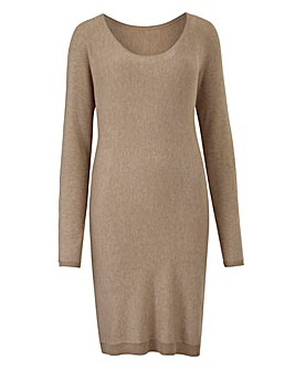 JOANNA HOPE Bow Detail Jumper Dress