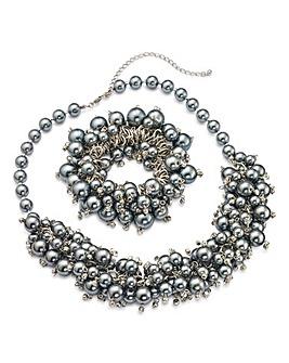 Together Necklace and Bracelet Set