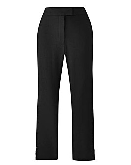 Together Bead Detail Crop Trousers