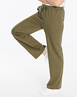 PK2 Straight Leg Jersey Trousers Long