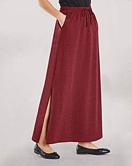 PK OF 2 SIDE SPLIT FRONT MAXI SKIRT