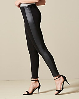 PU Side Panel Leggings Regular