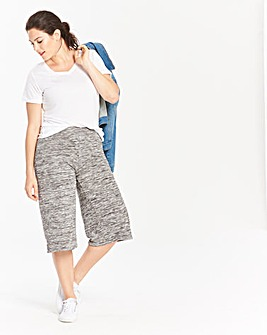 Grey Space Dye Culottes