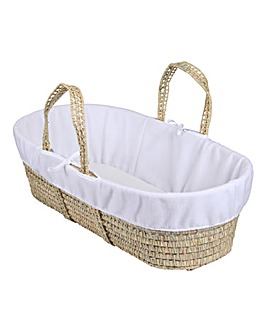 Clair de Lune Moses Basket Fleece Liner