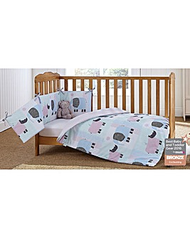 Clair de Lune Stanley & Pip Cot Bed Set