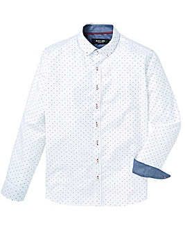 Black Label LS Print Shirt Reg