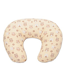 Dreamgenii Donut Pillow Neutral Owls