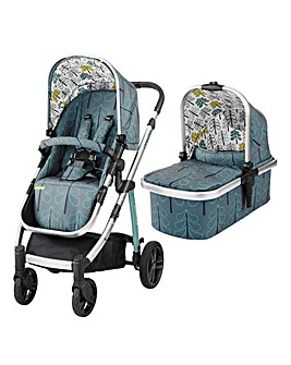 Cosatto Wow Pram & Pushchair Fjord