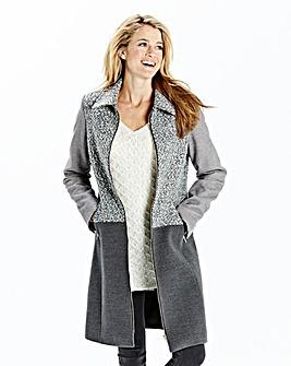 Zip Front Coat