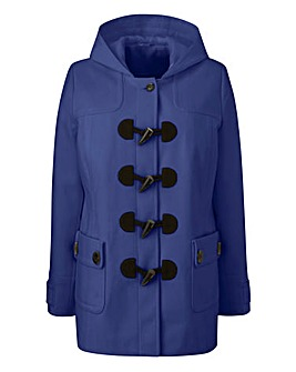 Plain Duffle Coat Length 28ins