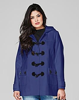 Plain Duffle Coat Length 28ins