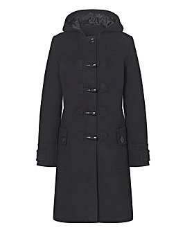 Plain Duffle Coat Length 37ins