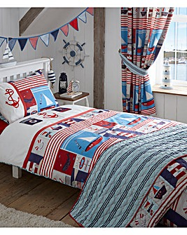 Maritime Quilted Throw Over
