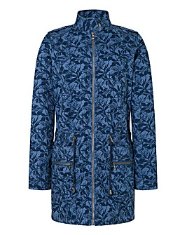Print Cotton Parka