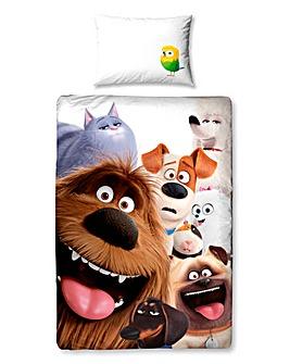 Secret Life of Pets Panel Duvet