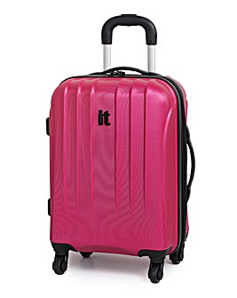 It Luggage 4-Wheel Expander Cabin Case