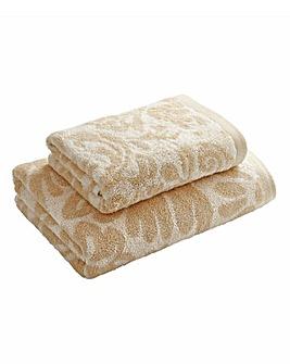 Florence Jacquard Bath Towel