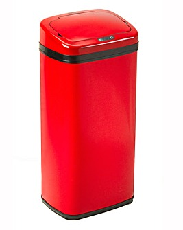 Russell Hobbs Square 30L Sensor Bin Red