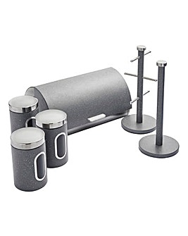 Salter 6 Piece Storage Set Grey