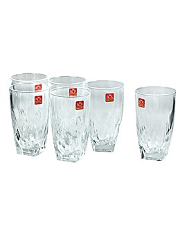RCR Crystal Fior Di Loto Highball Glass