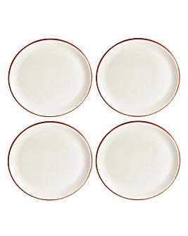 Jantar Terracotta Dinner Plates Set of 4