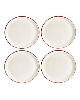 Jantar Terracotta Side Plates Set of 4