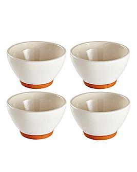 Jantar Terracotta Deep Bowls Set of 4