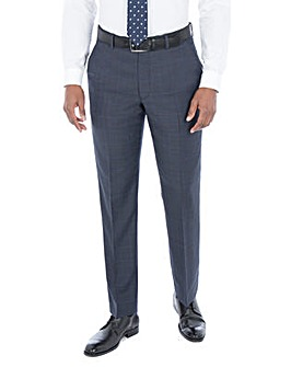 Pierre Cardin Blue Check Trousers