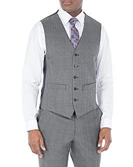 Scott & Taylor Grey Check Waistcoat
