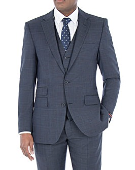 Pierre Cardin Blue Check Jacket